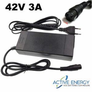 42v3A chargeur 36v 2a trottinette electrique active energy