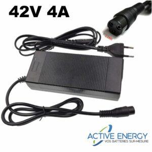 42v4A chargeur 36v 2a trottinette electrique active energy