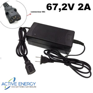 chargeur citycoco active energy 672v 2A