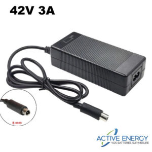 chargeur rapide pure electric active energy 42v 3a