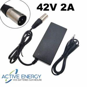 chargeur sxt 42v 2A active energy