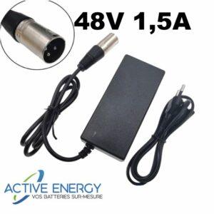 chargeur sxt 48v 1 5A active energy