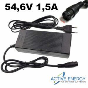 chargeur trottinette electrique active energ 48v 15A