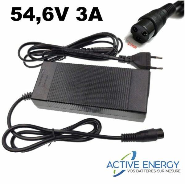 chargeur trottinette electrique active energ 48v 3A