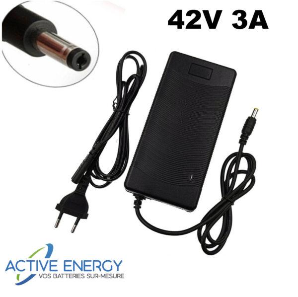 chargeur trottinette electrique active energy 42v3A