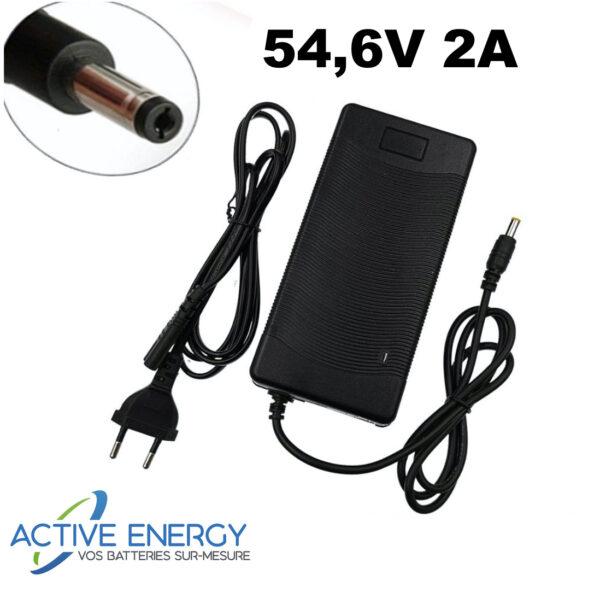 chargeur trottinette electrique active energy 48v 2A