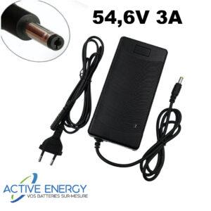 chargeur trottinette electrique active energy 48v 3A