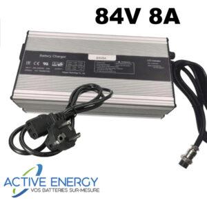 chargeur trottinette electrique active energy 84v 2A