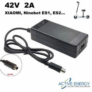 chargeur xiaomi m365 ninebot active energy